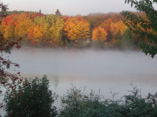 Lac Saint-Charles - automne