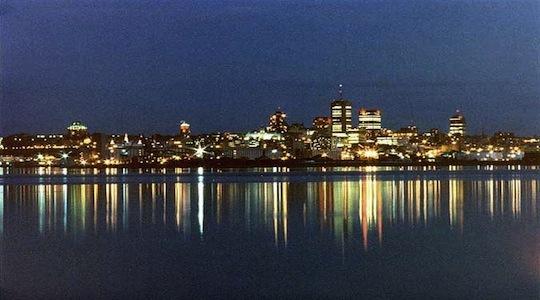 Voyage corporatif Quebec la nuit