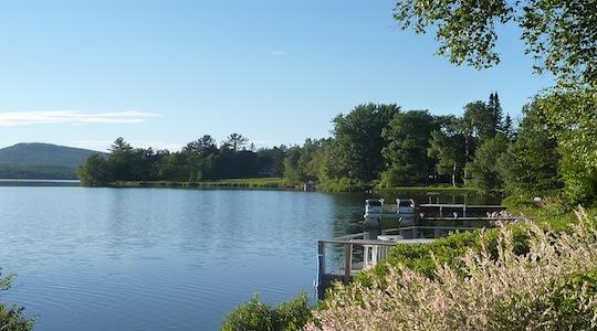 Vacances ete lac Saint-Charles